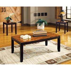 Abaco 3-piece Coffee and End Table Set