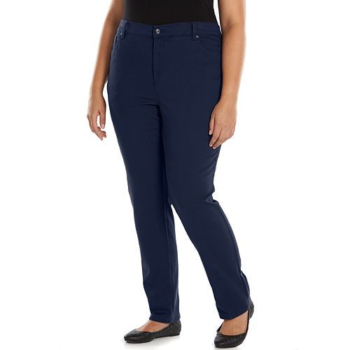 Plus Size Gloria Vanderbilt Amanda Tapered-Leg Jeans