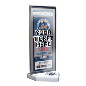 New York Mets Home Plate Ticket Display Stand