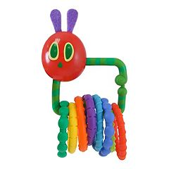 Eric Carle The Very Hungry Caterpillar Teething Rattle by Kids Preferred