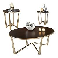 Cosmo 3-piece Coffee & End Table Set