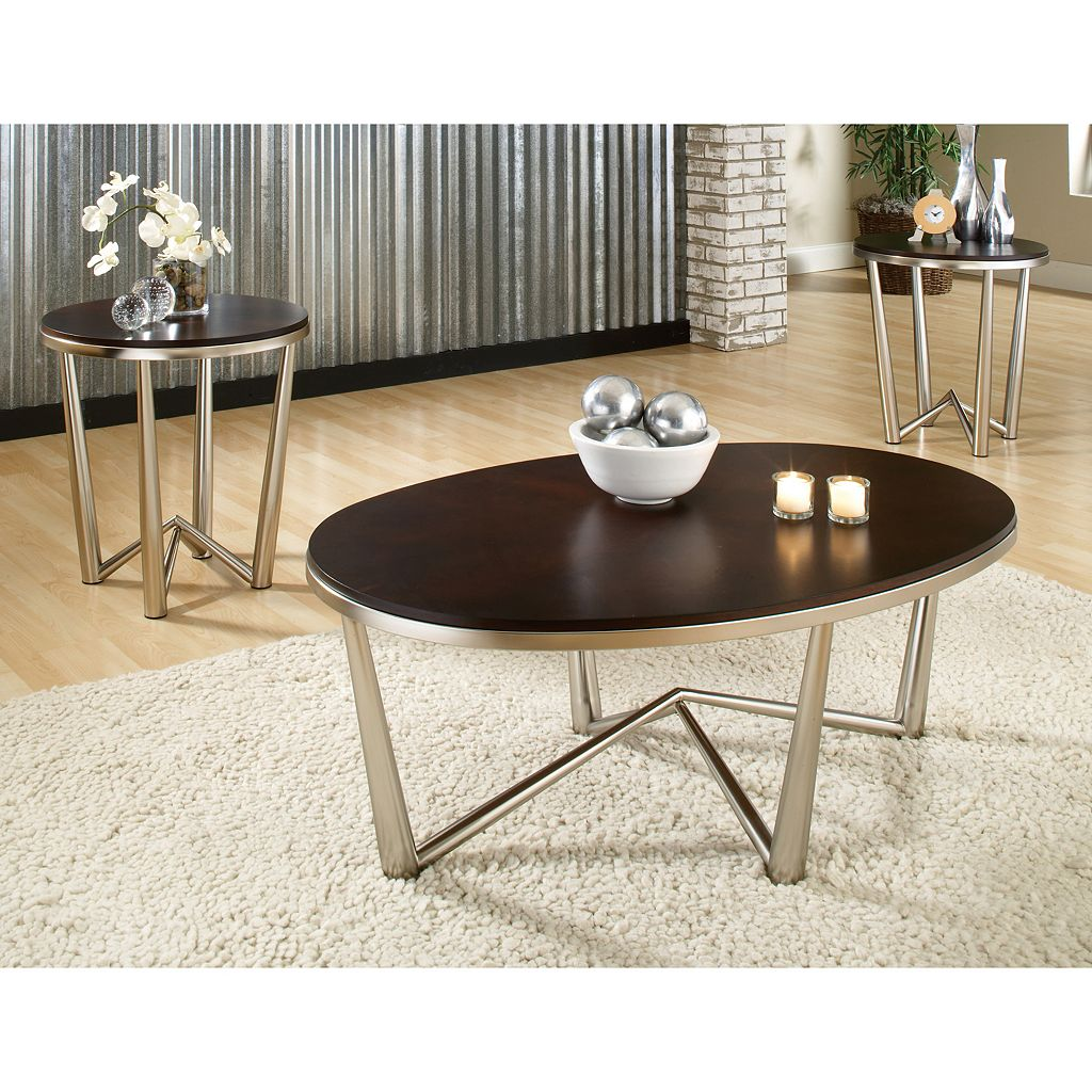 Cosmo 3-piece Coffee and End Table Set