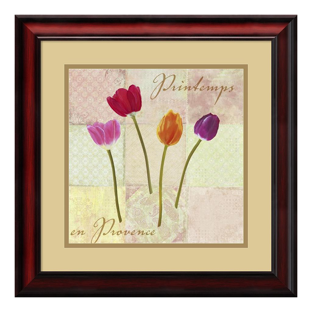 ''Spring in Provence'' Framed Art Print by Remy Dellal