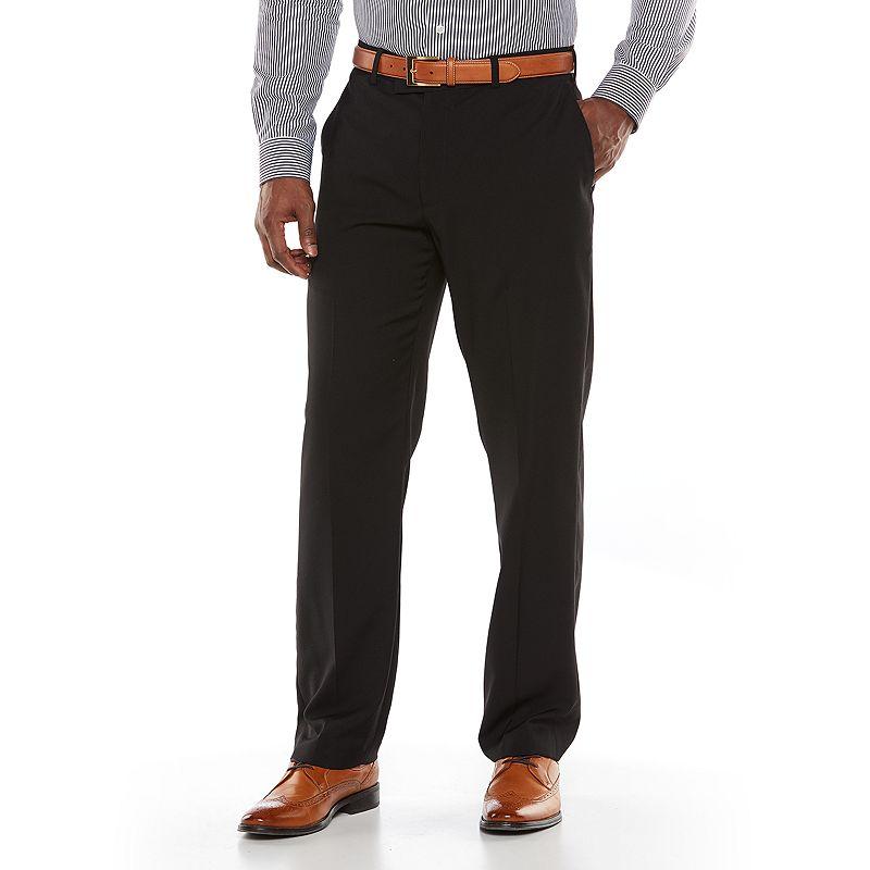 Axist Silkworks Slim-Fit Flat Front Dress Pants - Men