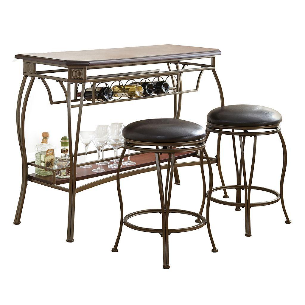 Greensboro 3-piece Bar Table & Stool Set