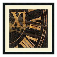 ''Roman Numerals I'' Framed Art Print by Russell Brennan