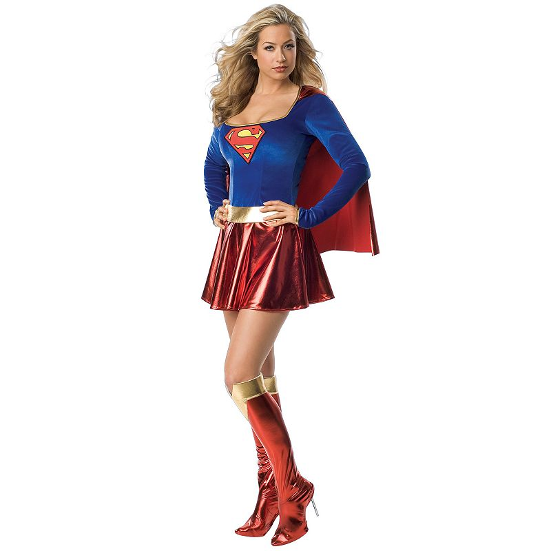 DC Comics Supergirl Deluxe Costume - Adult (Red)