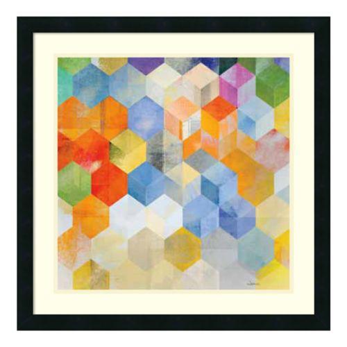 ''Cubitz II'' Framed Art Print