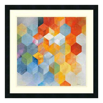 ''Cubitz I'' Framed Art Print
