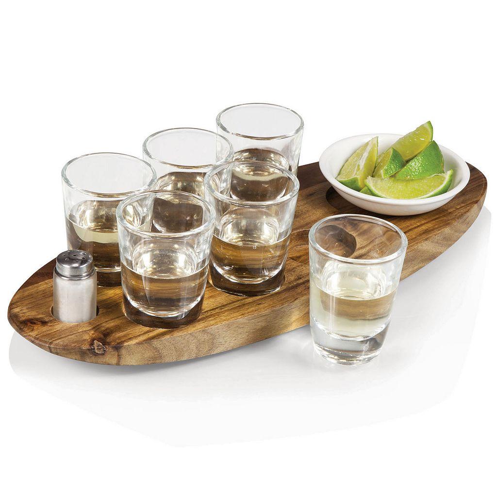 Picnic Time Cantinero Shot Glass Serving Set