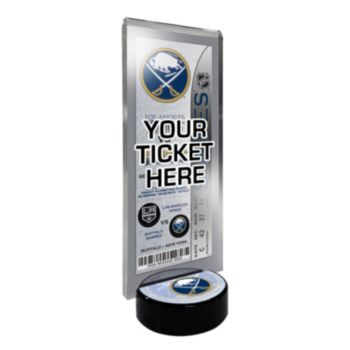 Buffalo Sabres Hockey Puck Ticket Display Stand