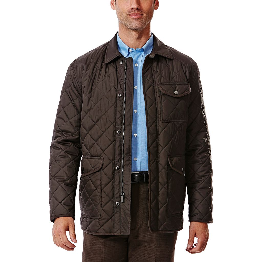 Men's Haggar® Quilted Barn Coat