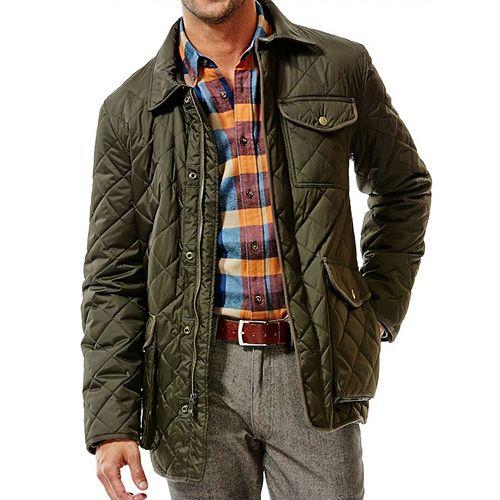 c07cfd9c205569 Men s Haggar® Quilted Barn Coat
