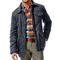 Haggar Mens Quilted Barn Coat (Multi Colors)