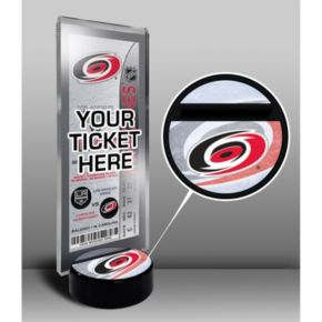 Carolina Hurricanes Hockey Puck Ticket Display Stand