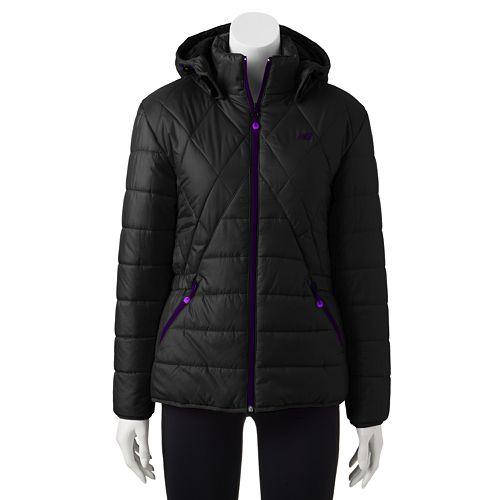 6184f4ef Women's New Balance Hooded Puffer Jacket
