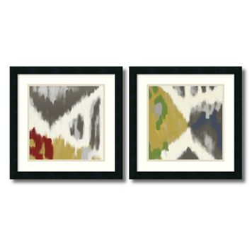 'Vibrant & Vivid'' 2-Piece Framed Art Print Set by Rita Vindedzis