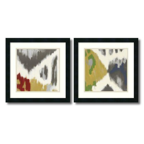 "'Vibrant and Vivid"" 2-Piece Framed Art Print Set by Rita Vindedzis"
