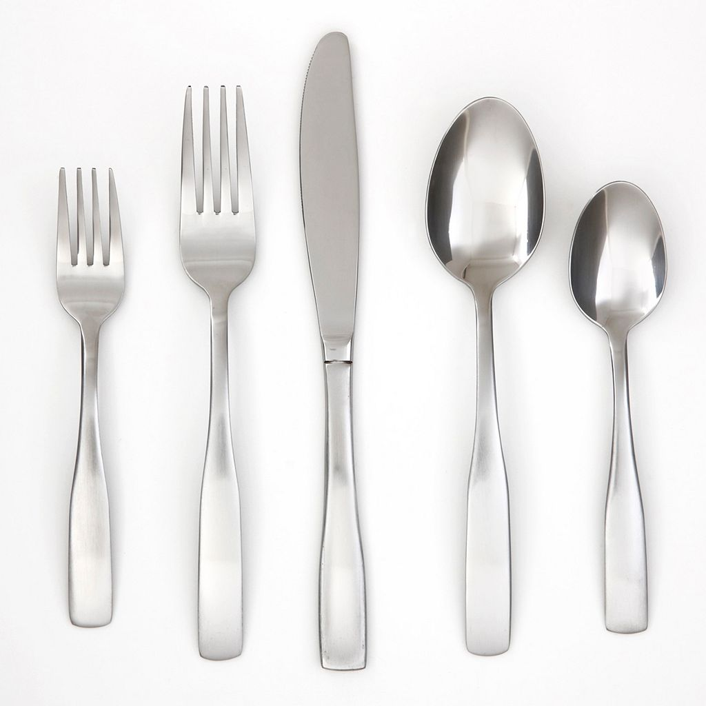 Cambridge Madison Satin 60-pc. Flatware Set with Flatware Tray
