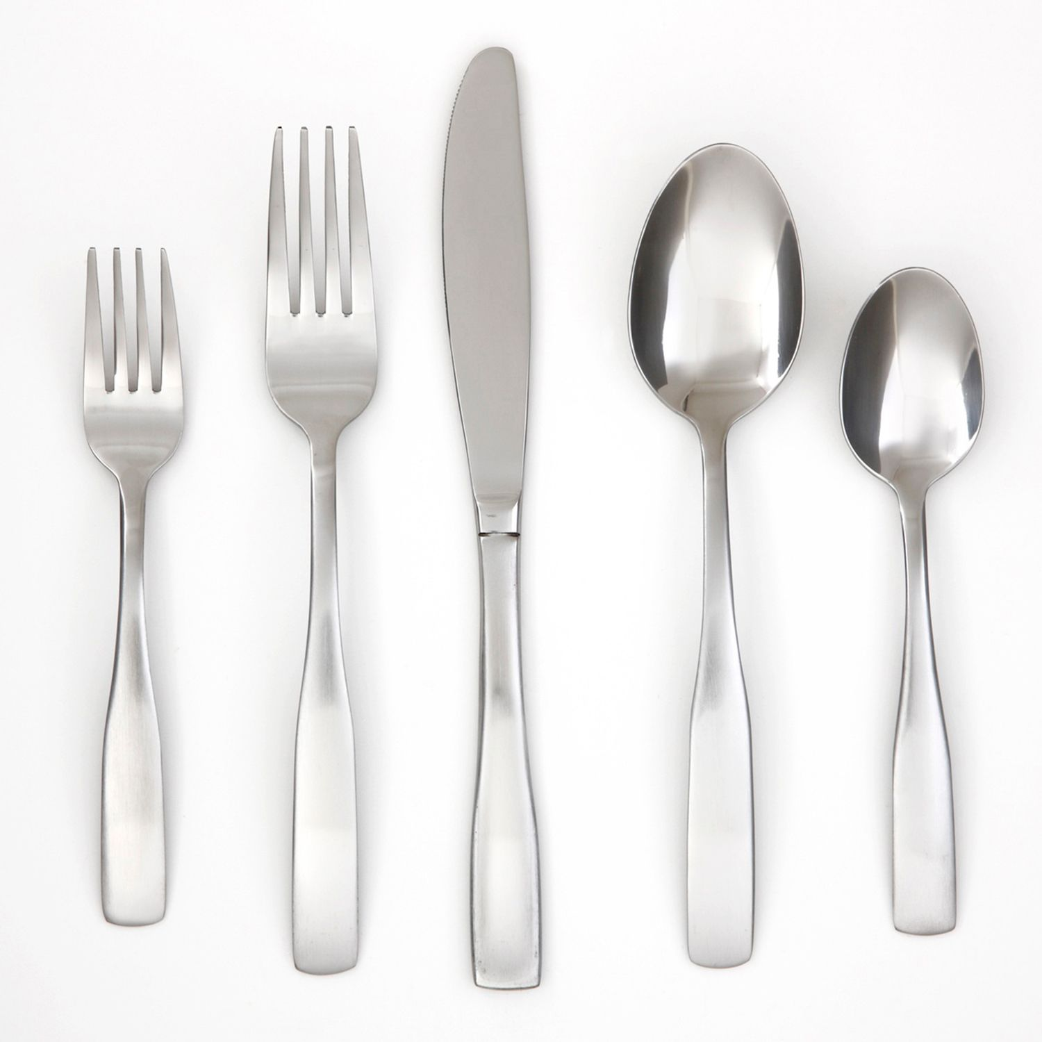 flatware set with flatware tray