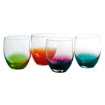 Artland Fizzy 4-pc. Double Old-Fashioned Glass Set