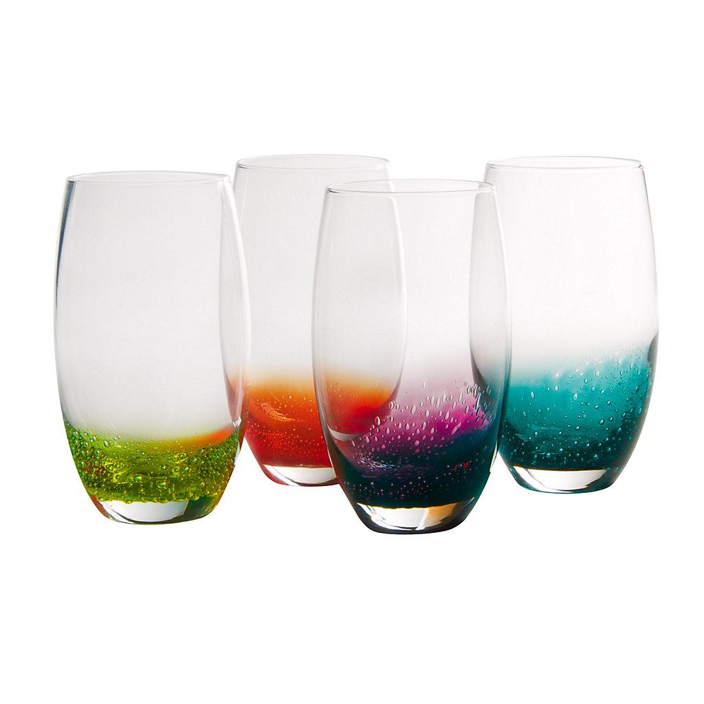 Artland Fizzy 4-pc. Highball Glass Set