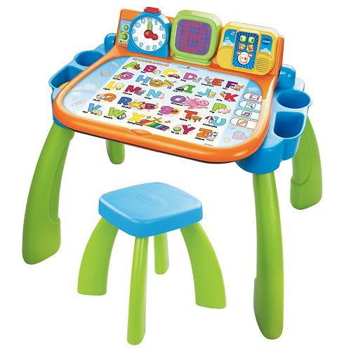 VTech Touch and Learn Activity Desk Deluxe Pink V Tech 80-194850