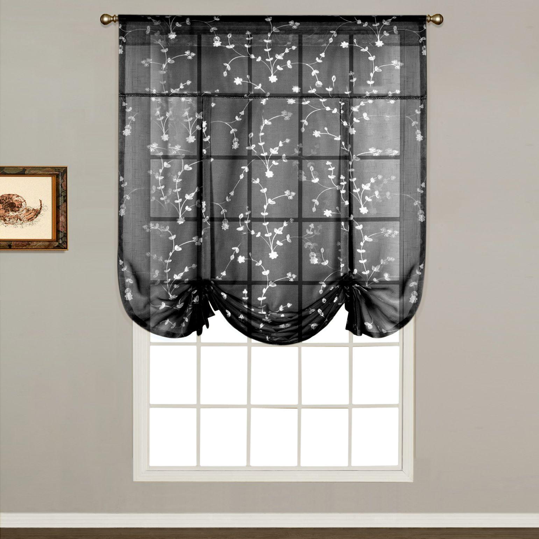 United Curtain Co. Savannah Tie Up Shade   40u0027u0027 ...