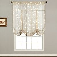 United Curtain Co. Savannah Tie-Up Shade - 40'' x 63''