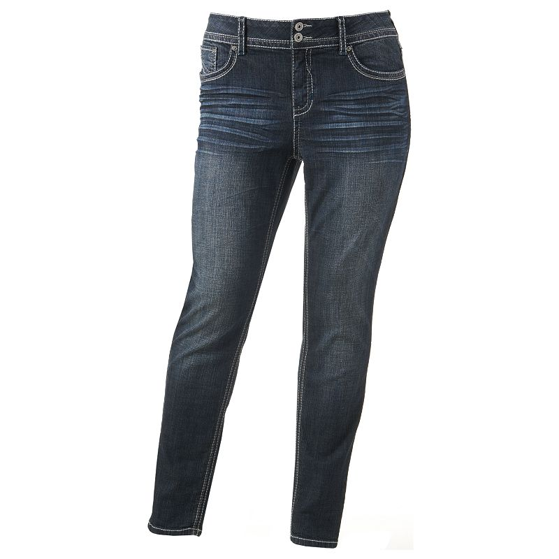 Hydraulic Bailey Super Skinny Jeans - Juniors Plus