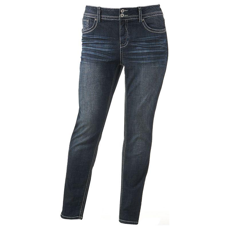 Hydraulic Bailey Super Skinny Jeans - Juniors Plus