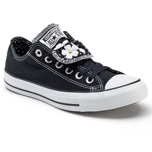 Adult Converse All Star Double Tongue Floral Sneakers