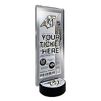Nashville Predators Hockey Puck Ticket Display Stand