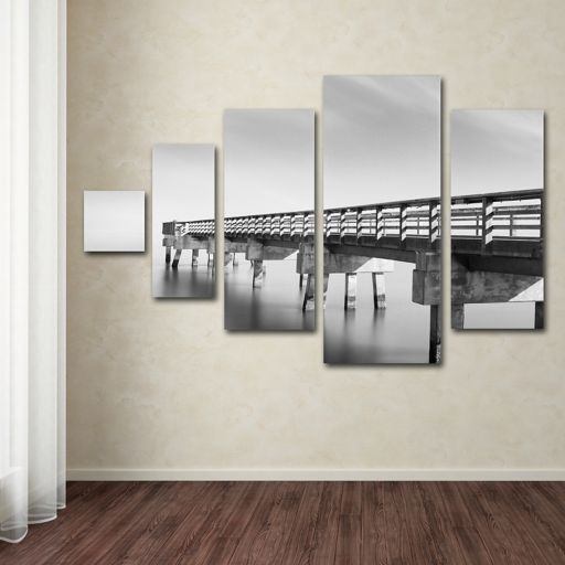 Infinity Panorama 5-piece Canvas Wall Art Set