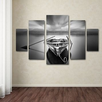 Ready Boat 5-piece Canvas Wall Art Set