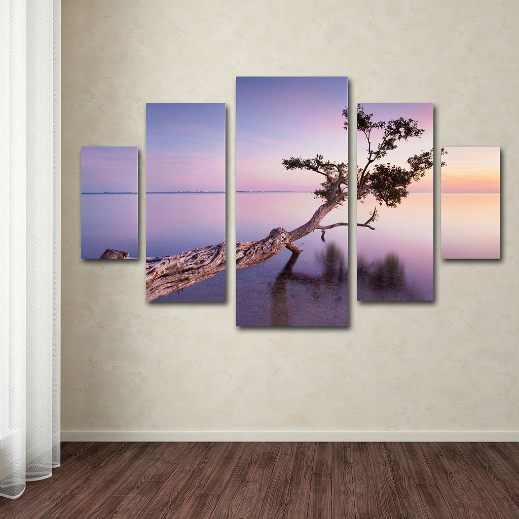 Water Tree 5-piece Canvas Wall Art Set