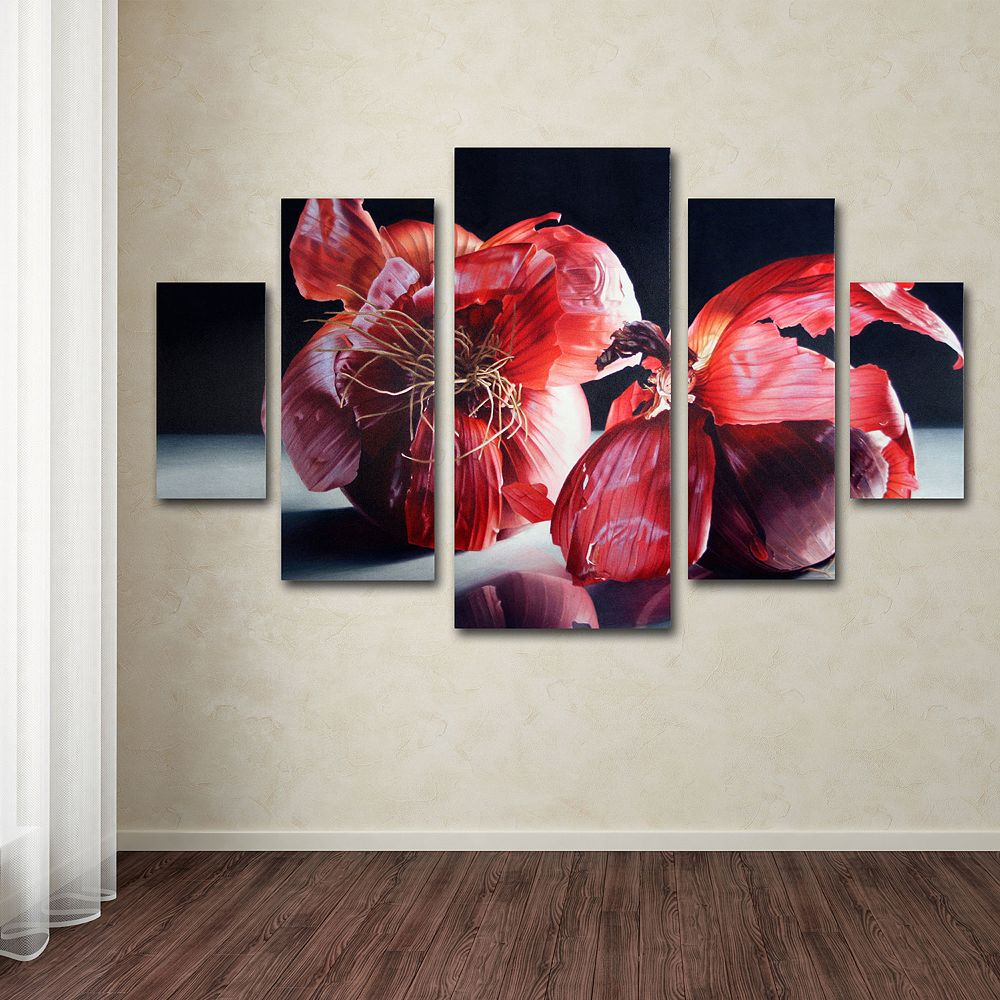 Beauty So Deep 5-piece Canvas Wall Art Set