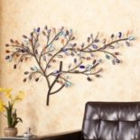 Southern Enterprises Jordan Tree Metal Wall Art