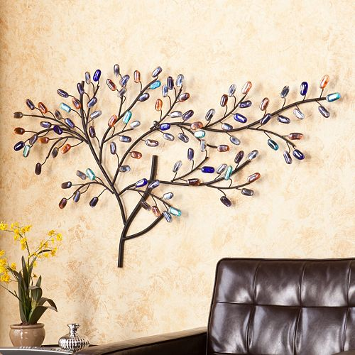 Kohls Home Decor Wall Art ~ Southern enterprises jordan tree metal wall art