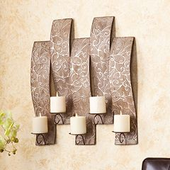 Southern Enterprises Scroll Wall Candleholder