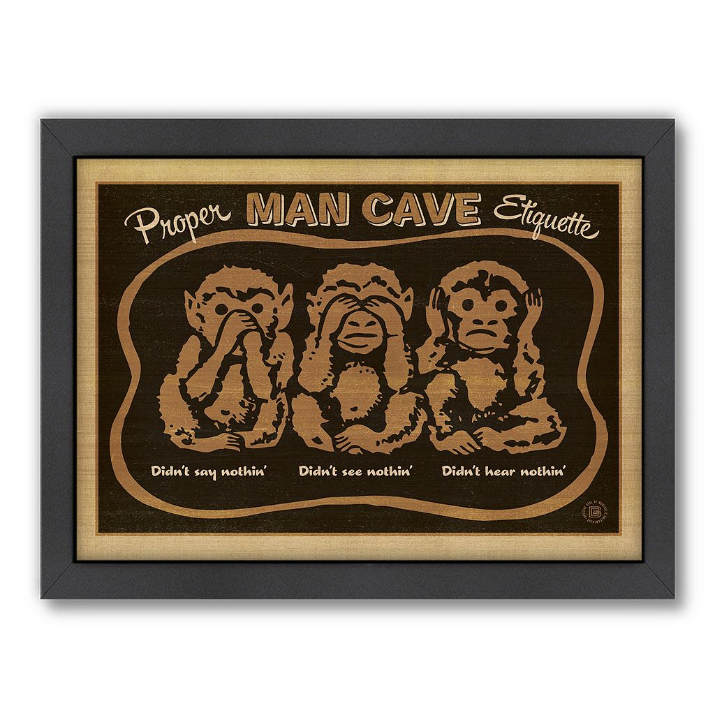 Americanflat Anderson Design Group ''Monkeys'' Framed Wall Art