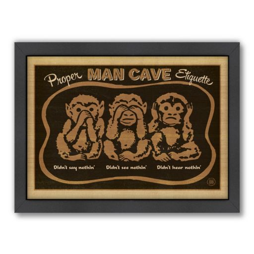 Americanflat Anderson Design Group ''Monkeys'' Framed Wall Art
