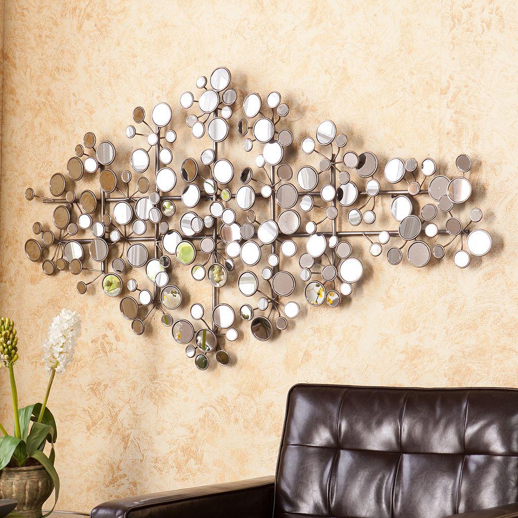 Southern Enterprises Tevon Mirrored Metal Wall Art