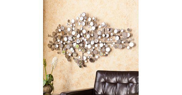 Kohls Turtle Wall Decor : Southern enterprises tevon mirrored metal wall art