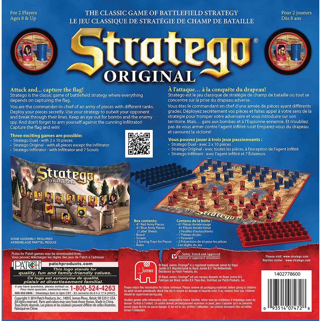 Stratego Original Game by Patch