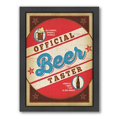Americanflat Anderson Design Group ''Beer Taster'' Framed Wall Art