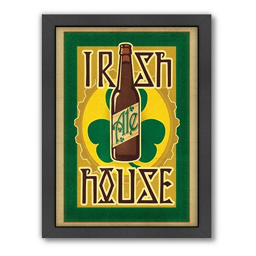Americanflat Anderson Design Group ''Irish Ale House'' Framed Wall Art