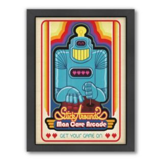 Americanflat Anderson Design Group ''Video Arcade'' Framed Wall Art