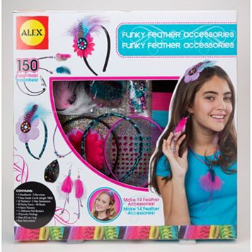 ALEX Funky Feather Accessories Kit