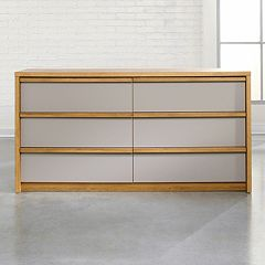 Sauder Soft Modern 6-Drawer Dresser